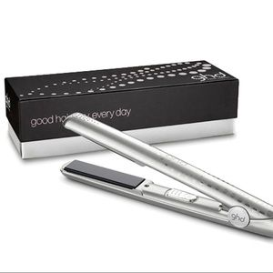 GHD Straightener Series Metallic Shimmering Silver